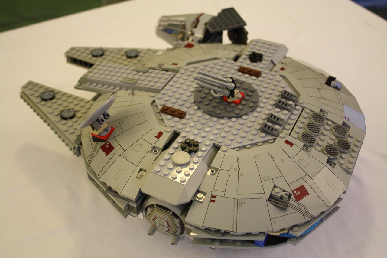 Below I Have Included A Gallery Of More Images My Custom 7190 Millennium Falcon Enjoy And Thanks For Visiting