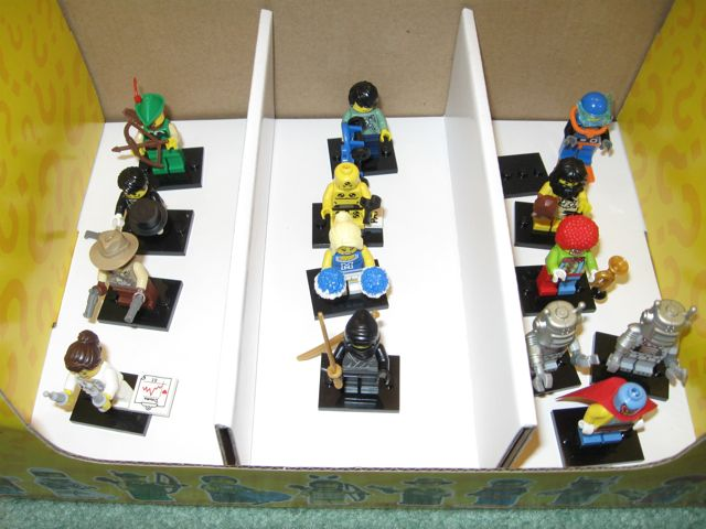 Lego Collectible Minifigures 8683 Series 1 Completed! | Dynamic ...