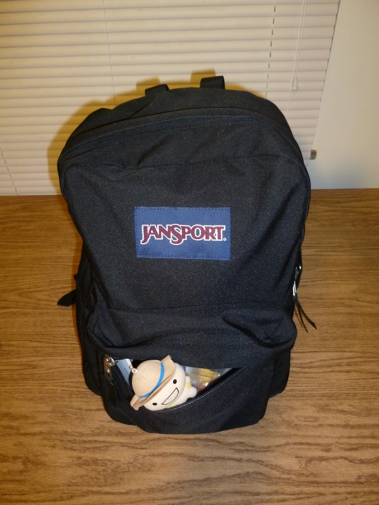 Travel Light With Only a Regular JanSport Backpack, From My