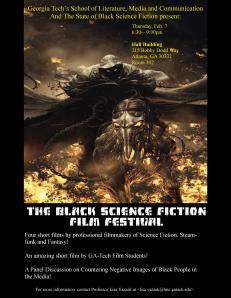 State of Black Science Fiction Festival Poster