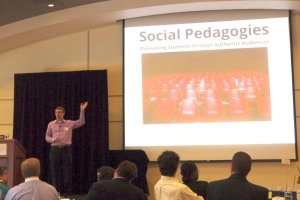 Derek Bruff's Social Pedagogies Presentation.