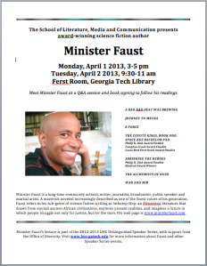 Minister Faust Flyer