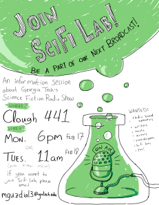 The SciFi Lab Wants You!