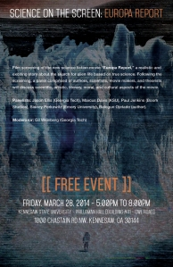 Free Europa Report Screening and Panel Discussion!