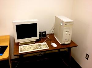 Dell Dimension 4100.