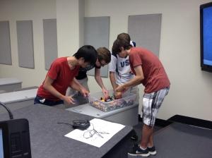 Collecting LEGO bricks for their MOCs.