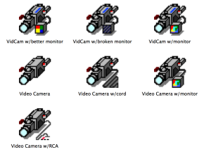 Jason's Icons: Video Equipment