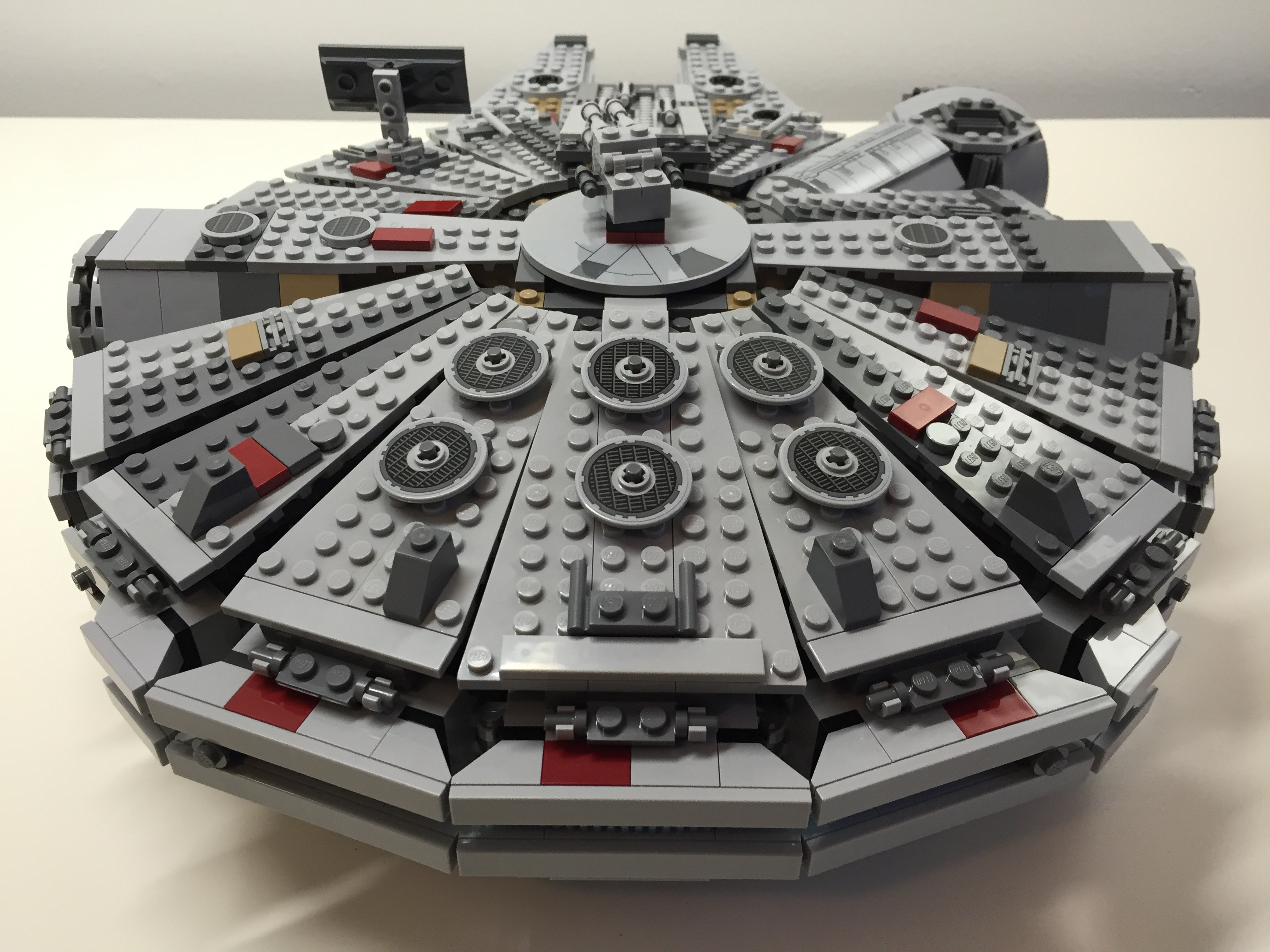 Customized Lego Star Wars Millennium Falcon 75105 From The Force Awakens Dynamic Subspace