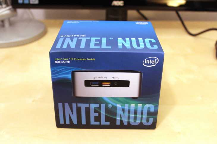 Intel NUC 6I5SYH Hardware Review, BIOS Update, and Fedora 25