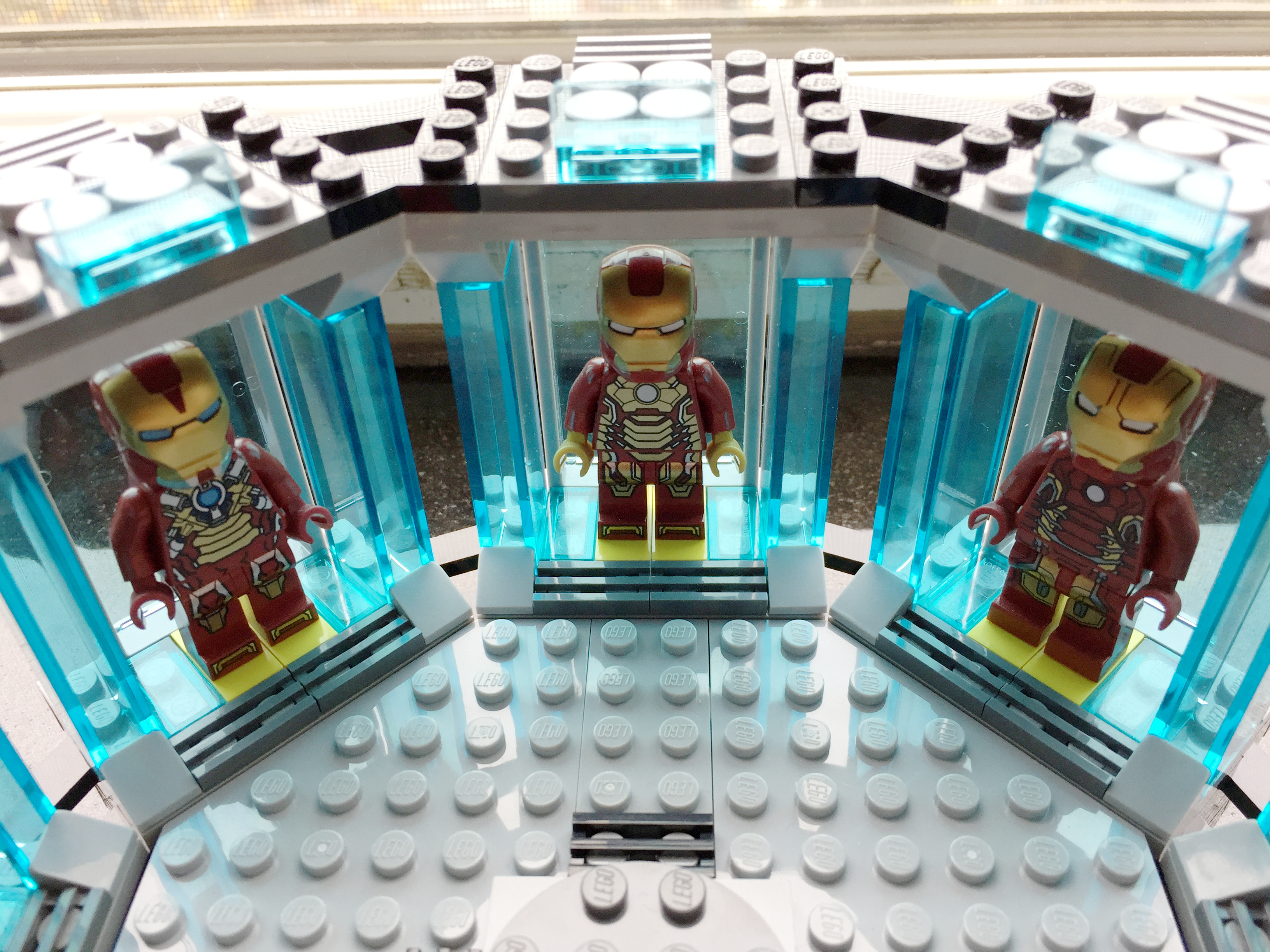 Updated And Expanded Lego Iron Man S Hall Of Armor